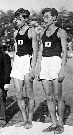 Masao Harada and Kenkichi Oshima 1934.jpg