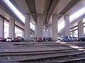 Masarykovo nádraží, přemostění, parkoviště jih (01).jpg
