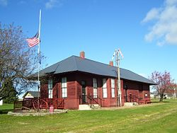 The Mason Depot, home of the Mason Area Historical Society