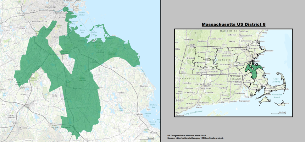 Massachusetts US Congressional District 8 (since 2013)