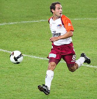 Massimo Murdocca - Murdocca playing for Brisbane Roar in 2008