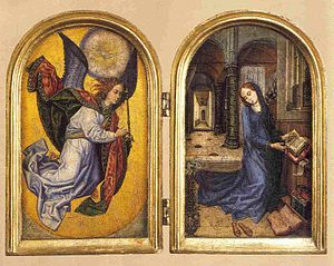 The Annunciation to Mary (Diptych)