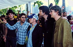 I Matchbox Twenty agli MTV Asia Awards del 2003
