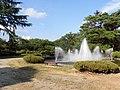 Matsugaike park Fountain, Nagai.jpg