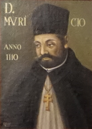 Antipope Gregory VIII - Mauritius as Archbishop of Braga, in a 16th-century portrait