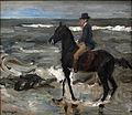 Max Liebermann - Le Cavalier sur la plage.JPG
