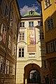 Maxeins-Hinweis an der Hofburg in Innsbruck.jpg
