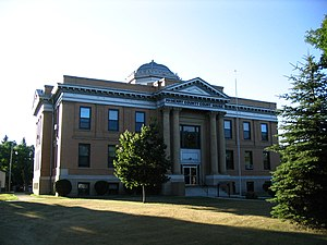 McHenry County, North Dakota - Image: Mc Henry County Courthouse Towner North Dakota