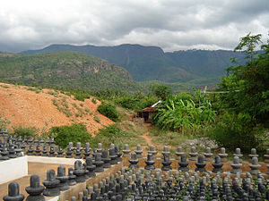 Suruli Falls - High Wavey mountains