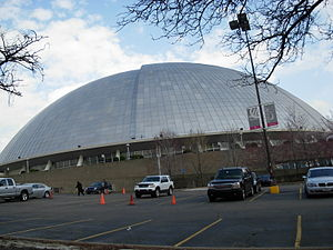 Pittsburgh Condors - The Civic Arena was home to the franchise during their time in Pittsburgh.