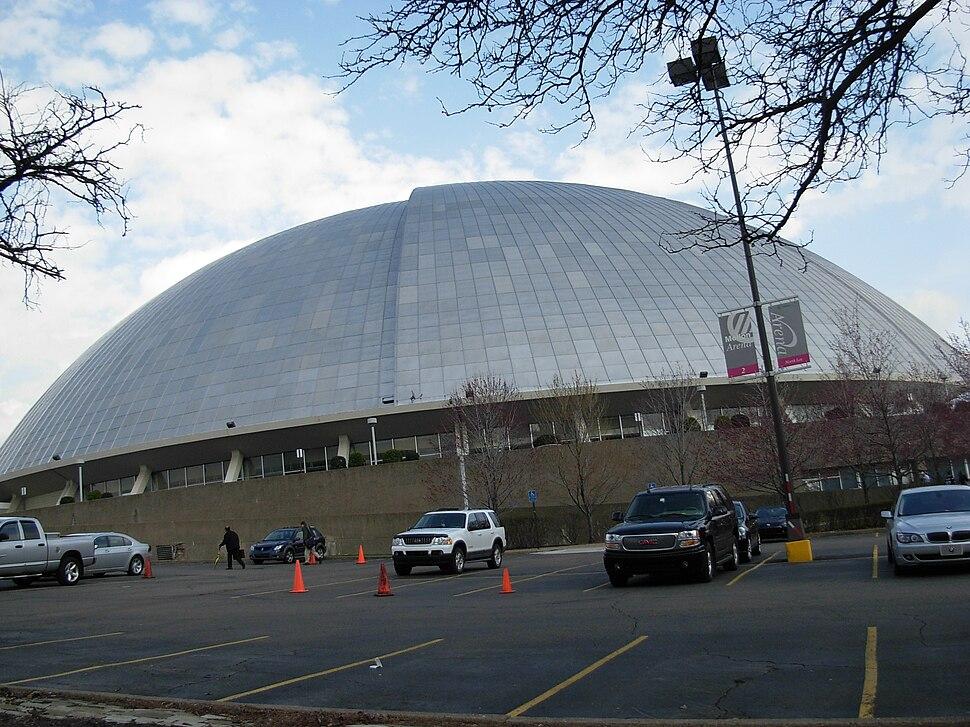 Mellon Arena - drive through side 01