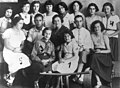 Members of the Akiva Zionist youth movement's local chapter in Sanok..jpg