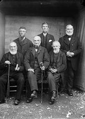 Men's sunday school class, Tregaron