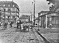 Mendelssohnplatz Bahnübergang Rüppurrer Straße N um 1900.jpg