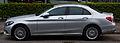 Mercedes-Benz C 220 BlueTEC Exclusive (W 205) – Seitenansicht, 12. Juli 2014, Düsseldorf.jpg