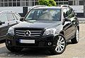 Mercedes-Benz GLK 250 CDI BlueEFFICIENCY 4MATIC (X 204) – Frontansicht, 12. Juni 2011, Ratingen.jpg