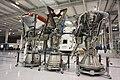 Merlin engines in SpaceX headquarters in Hawthorne, CA.jpg