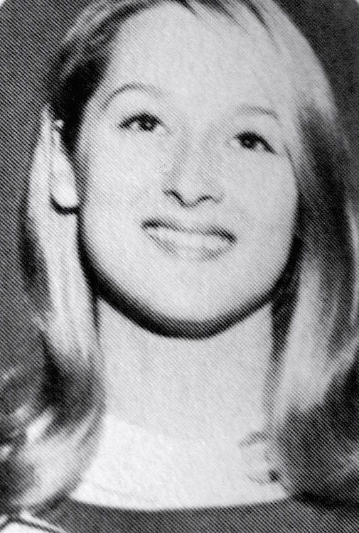 Meryl Streep cheerleader 1966 (cropped 2)