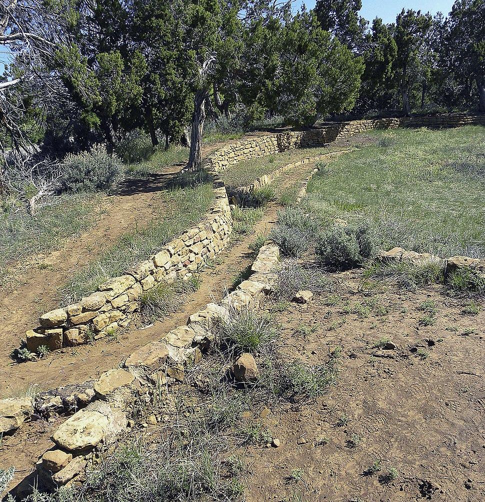 Mesa verde far view procession 6