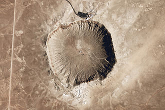 Meteor Crater - Image: Meteor Crater Arizona
