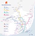 Metro Lisboa with suburban railway lines(2011).png