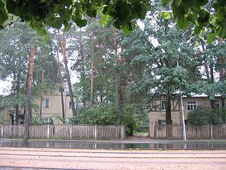 Mežaparks - Typical residences of Mežaparks.