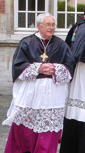 Honorary Prelate - Mgr. Vanneste, Canon and Honorary prelate in Bruges