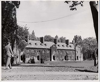 Hobart and William Smith Colleges - Medbery Hall in 1955