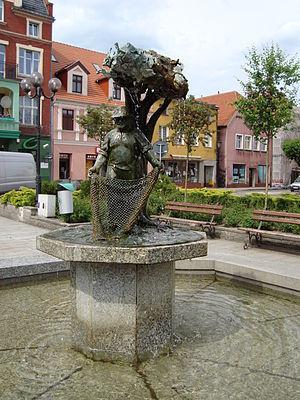 Międzychód - Market square