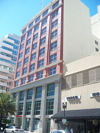 Downtown Miami Historic District - Image: Miami FL Downtown HD 101 East Flagler 01