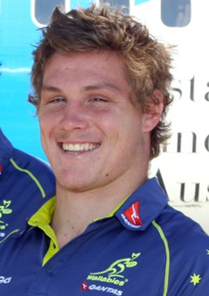 Michael Hooper (rugby union) - Michael Hooper in October 2012
