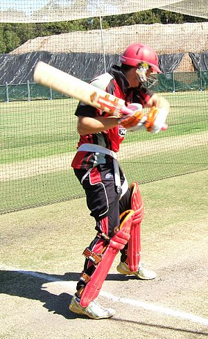 Michael Klinger - Image: Michael Klinger batting 2
