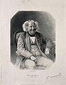 Michel Eugène Chevreul. Photogravure after a photograph by F Wellcome V0001107.jpg