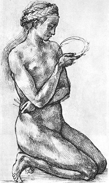 File:Michelangelo, Nude Woman on her Knees.jpg