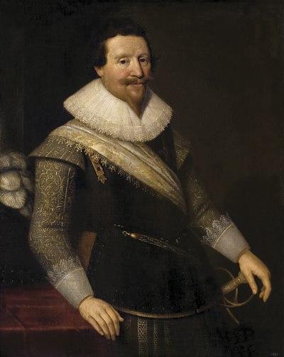 Michiel Jansz. van Mierevelt - Portrait of the Duke of Wallenstein