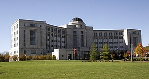 Kwame Kilpatrick - Michigan Hall of Justice, home of the Michigan Supreme Court.