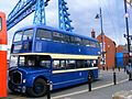 Middlesbrough Corporation bus 99 (JDC 599), 2009 Teeside Running Day (2).jpg