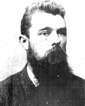 Pedersen bicycle - Mikael Pedersen, the inventor.