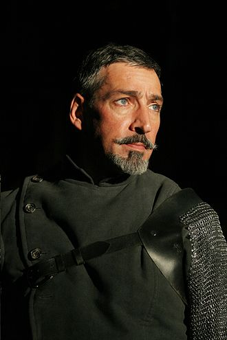 Miles Richardson - Miles Richardson as the Duke of Exeter in the Royal Shakespeare Company's production of Henry V.