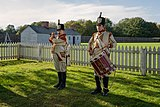 Military musicians of 1812 (Reenactors at Fort George, Niagara on the Lake).jpg