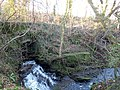Millbank Burn Mill Bridge & Burn, Lochwinnoch, Renfrewshire.jpg