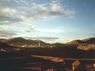 Town in Pasco, Peru