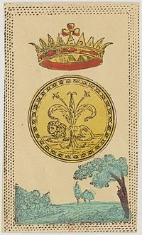 Minchiate card deck - Florence - 1860-1890 - Coins - 01.jpg