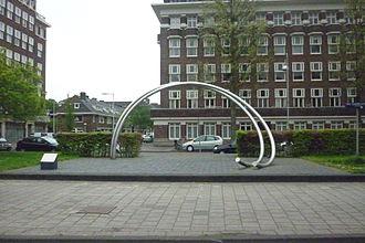 Amsterdam-Zuid - Minervaplein, Stadionbuurt.