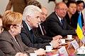 Ministru prezidents Valdis Dombrovskis tiekas ar Ukrainas Augstākās Radas (parlamenta) priekšsēdētāju Volodimiru Ļitvinu (7447962864).jpg