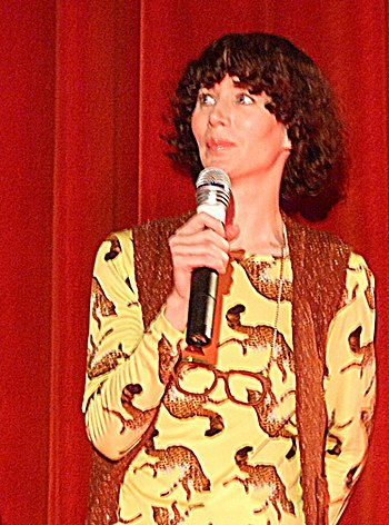 English: Miranda July at the Berlin Internatio...