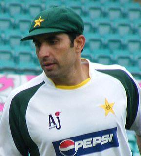 Misbah-ul-Haq former Pakistani cricketer