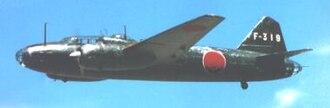Mitsubishi G4M - Mitsubishi G4M1 of 801st Kōkūtai