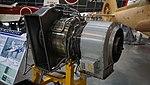 Mitsubishi MG5-110 turboshaft engine left rear view at Kakamigahara Aerospace Science Museum November 2, 2014.jpg