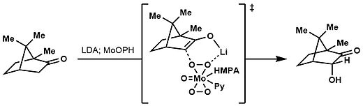 Transition state for MoOPH alpha-hydroxylation